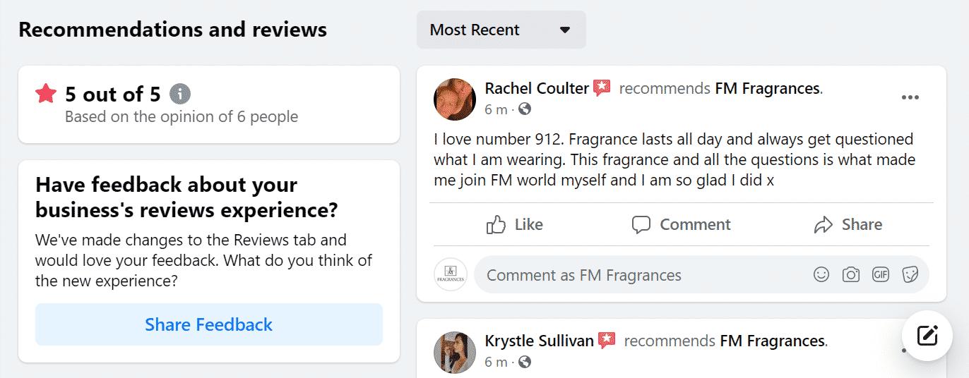 FM Fragrance Reviews