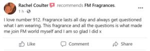 Rachel Coutler Avatar - FM Perfume Facebook Review